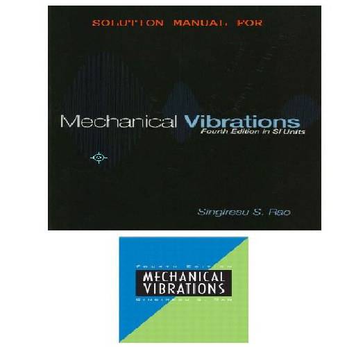 حل تمرین  Mechanical Vibrations