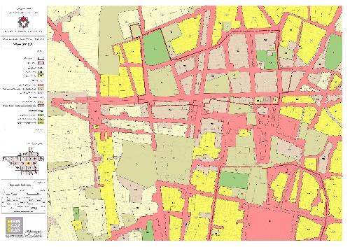 دانلود فایل نقشه های پهنه بندی مناطق 22 گانه تهران بزرگ